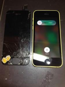 iPhone5c復活