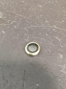 レンズ割れの修理