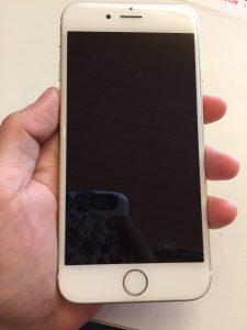 電源が落ちたiPhone6