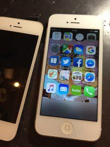 表示不良が直ったiPhone5