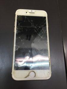 iPhone7液晶修理前