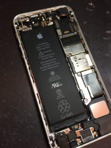 バッテリは膨張なし