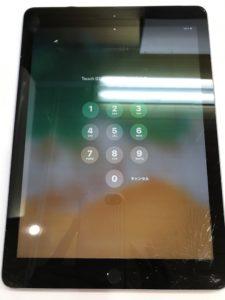 画面右下が割れてしまったiPad6