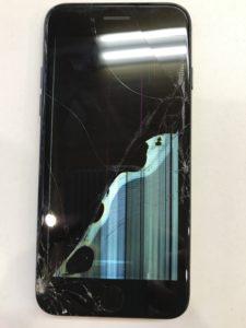 液漏れと表示不良のiPhone7