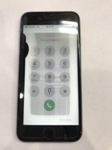 左側の液漏れと表示不良のiPhone6s