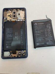 Mate10Proは新品バッテリーに交換しました!