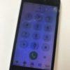 液漏れによる表示不良と充電不可のiPhoneSE